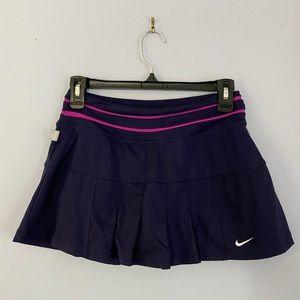 Nike purple tennis skirt
